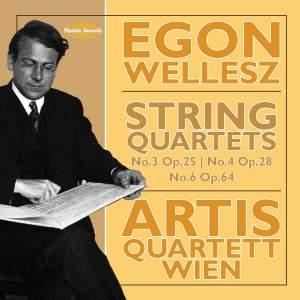 Wellesz: String Quartets