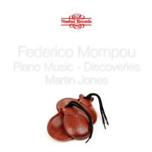 Federico Mompou: Piano Music Volume 2
