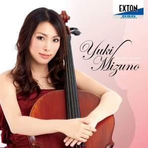 Yuki Mizuno performs works for cello
