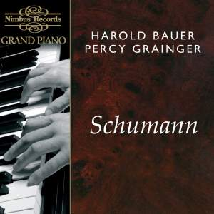 Harold Bauer and Percy Grainger play Schumann