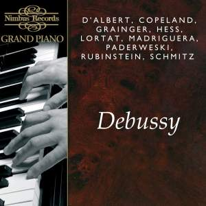 Great Pianists play Debussy