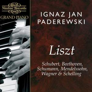 Ignaz Jan Paderewski plays Liszt
