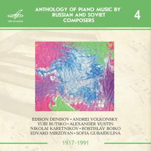 Anthology of Piano Music by Russian and Soviet Composers Part 1 Disc 4