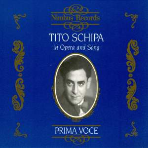 Tito Schipa in Opera and Song Product Image