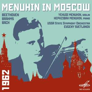 Menuhin in Moscow Product Image