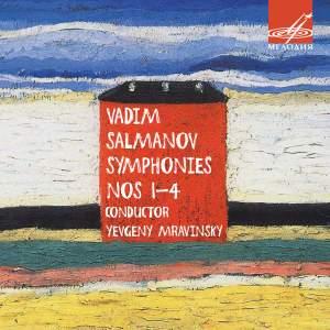Vadim Salmanov: Symphonies Nos. 1-4