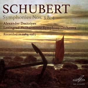 Schubert - Symphonies Nos. 3 & 4