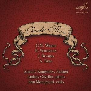 Chamber Music for Clarinet, Piano & Cello Product Image