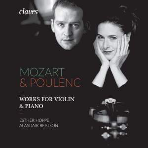 Mozart & Poulenc: Works for Violin & Piano Product Image