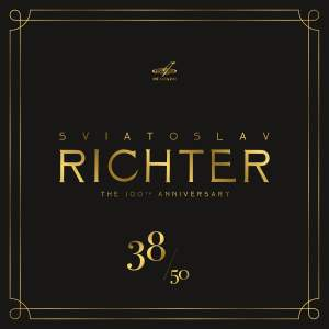 Sviatoslav Richter 100, Vol. 38 (Live)