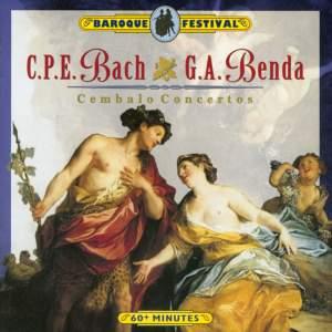 C.P. E. Bach & G. A. Benda: Cembalo Concertos Product Image