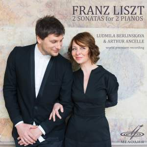 Liszt: Two Sonatas for Two Pianos