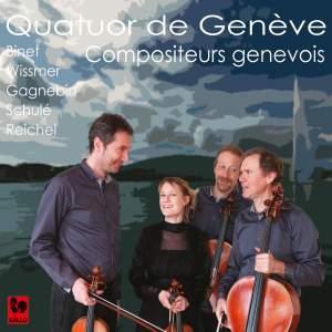 Binet - Wissmer - Gagnebin - Schulé - Reichel: String Quartets Product Image