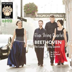 Beethoven: The Complete String Quartets Volume 3