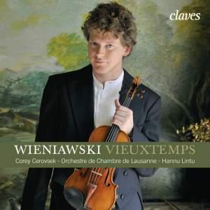 Vieuxtemps: Violin Concerto No. 5, Op. 37 - Wieniawski: Violin Concerto No. 2, Op. 22