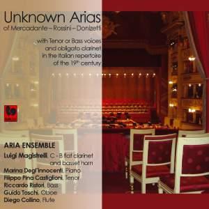 Donizetti - Rossini - Mercadante: Unknown Arias with Tenor or Bass Voices and obligato Clarinet in the Italian Repertoire of 19th Century