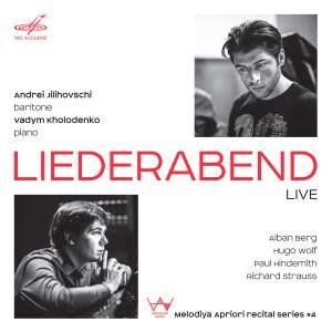 Liederabend, Live: Melodiya Apriori Recital Series, Vol. 4