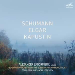 Schumann, Elgar & Kapustin