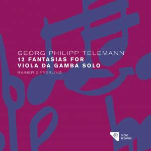 Telemann: The Solo Fantasias Vol. 1 Product Image