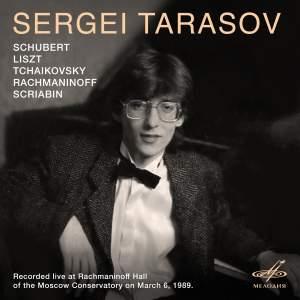 Sergei Tarasov, Piano (Live)