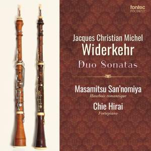 J. Ch. M. Widerkehr: Duo Sonatas Product Image