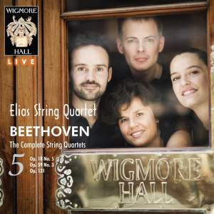 Beethoven String Quartets, Vol. 5 - Wigmore Hall Live