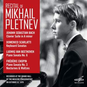 Recital of Mikhail Pletnev. Moscow, October 31, 1979 (Live) Product Image