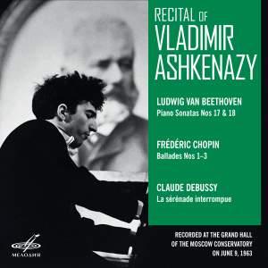 Recital of Vladimir Ashkenazy. Moscow, June 09, 1963 (Live)