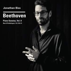 """Beethoven Piano Sonatas, Vol. 8, No. 8 (""""Pathétique""""), 10, 22 & 31"""