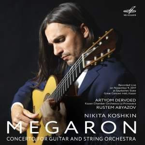 Koshkin: Concerto for Guitar and Strings 'Megaron' (Live)
