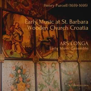 Early Music at St. Barbara Wooden Church Croatia (Live)