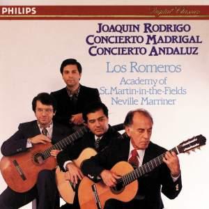Rodrigo: Concerto Madrigal & Concierto Andaluz