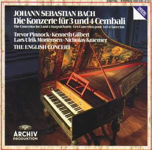 JS Bach: The Concertos for 3 and 4 Harpsichords