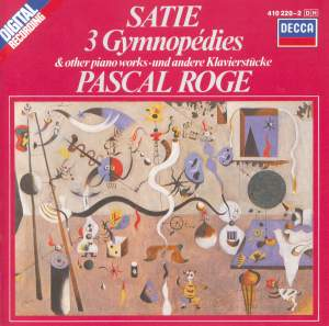 Satie: 3 Gymnopédies