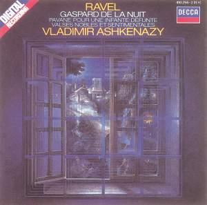Ravel: Gaspard de la nuit, Pavane & Valses nobles et sentimentales