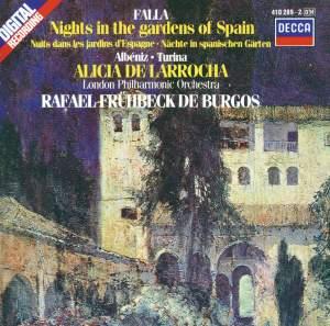 Falla: Noches en los jardines de España, etc.