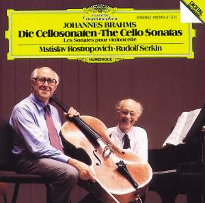 Brahms: Cello Sonatas Nos. 1 & 2