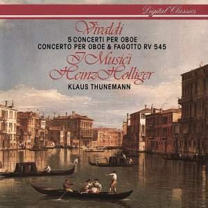 Vivaldi: Five Oboe Concertos