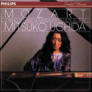 Mozart: Piano Sonatas Nos. 7 - 9