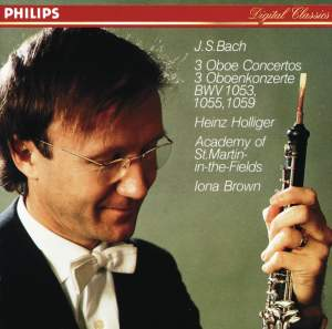 JS Bach: Oboe Concertos Product Image