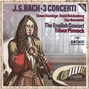 J S Bach: 3 Concerti