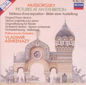 Mussorgsky: Pictures at an Exhibition (two versions)