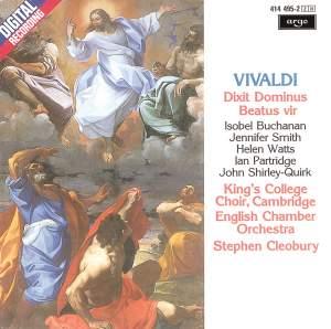 Vivaldi: Dixit Dominus & Beatus vir