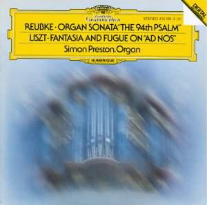 Reubke & Liszt: Works for Organ