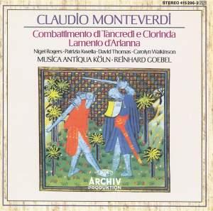 Monteverdi: Lamento d'Arianna & Combattimento di Tancredi e Clorinda