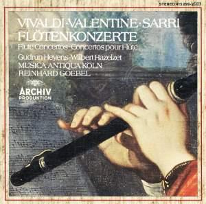 Vivaldi, Valentine & Sarri: Flute Concertos