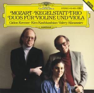 Mozart: Kegelstatt-Trio & Duos for Violin and Viola