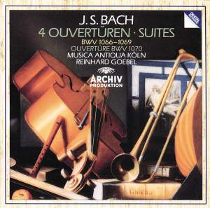 Bach: Overtures and Suites Product Image