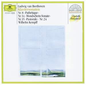 Beethoven: Piano Sonatas Nos. 8, 14, 15 & 24