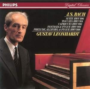 JS Bach: Harpsichord Works